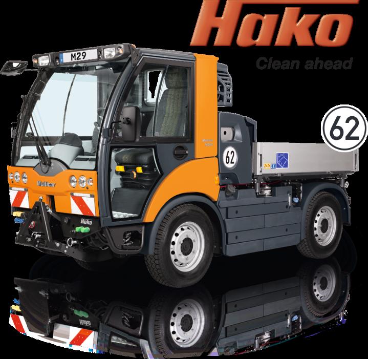 Hako clean ahead