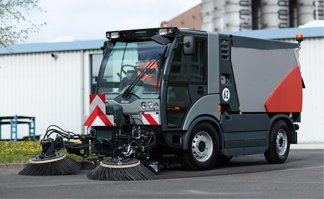 Citymaster 2200 Die 3-in-1-Maschine: Kehren, Nassreinigung, Winterdienst